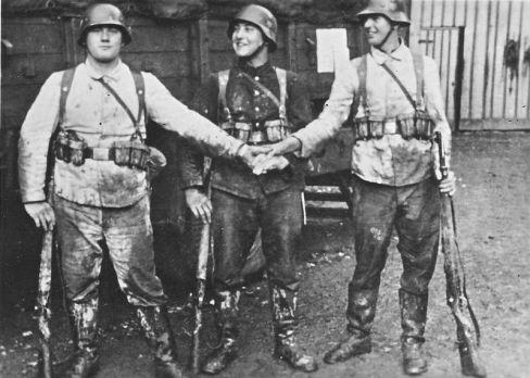 Deutsche Rekruten, 1940